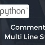 Comment And Multi Line String